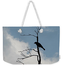 Weekender Tote Bag featuring the photograph Looking Down On Me  by Michael Krek