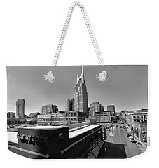 Looking Down On Nashville Weekender Tote Bag by Dan Sproul
