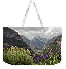 Looking Down On Ouray Colorado Weekender Tote Bag