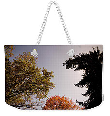 Looking Down On Us Weekender Tote Bag by Photographic Arts And Design Studio