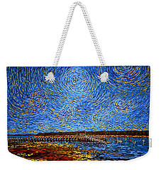 Looking East - St Andrews Wharf 2013 Weekender Tote Bag