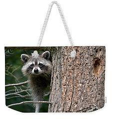 Looking For Food Weekender Tote Bag by Cheryl Baxter