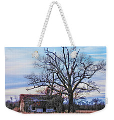Weekender Tote Bag featuring the photograph Looking For Shade by Victor Montgomery