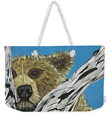 Weekender Tote Bag featuring the photograph Looking For Supper by Jeffrey Koss