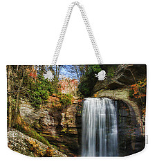 Looking Glass Falls Weekender Tote Bag