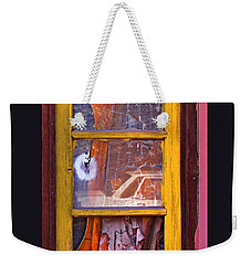 Looking Glass Weekender Tote Bag by Kandy Hurley
