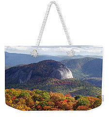 Looking Glass Rock And Fall Folage Weekender Tote Bag
