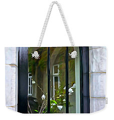 Weekender Tote Bag featuring the photograph Looking In by Charlie and Norma Brock