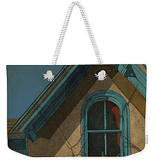 Weekender Tote Bag featuring the drawing Looking In by Meg Shearer