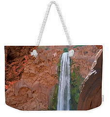 Looking Out From The Cave Weekender Tote Bag by Alan Socolik