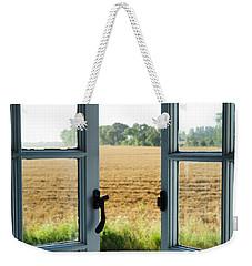 Looking Through A Window Weekender Tote Bag by Chevy Fleet