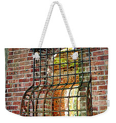 Looking Through Time Weekender Tote Bag by Karen Silvestri