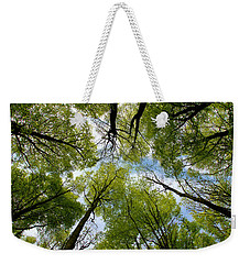 Looking Up Weekender Tote Bag by Ron Harpham