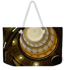 Looking Up The Capitol Dome - Denver Weekender Tote Bag