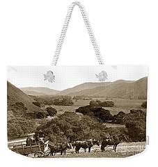 Looking Up The Carmel Valley California Circa 1880 Weekender Tote Bag