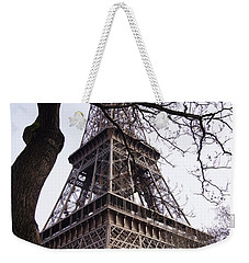 Looking Up To Eiffel  Weekender Tote Bag