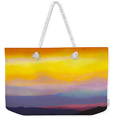 Looking West Weekender Tote Bag