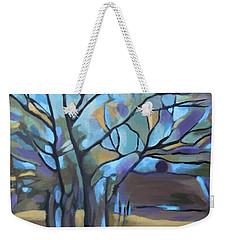 Looks Like Mondrian's Tree Weekender Tote Bag