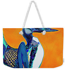Loon Weekender Tote Bag by Derrick Higgins