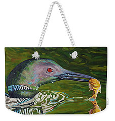 Loon Lunch Weekender Tote Bag