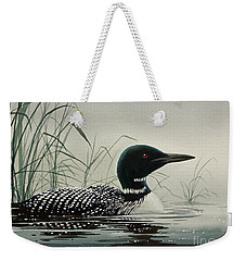 Loon Near The Shore Weekender Tote Bag