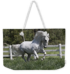 Loose In The Paddock Weekender Tote Bag by Wes and Dotty Weber