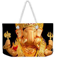 Lord Ganesha Weekender Tote Bag
