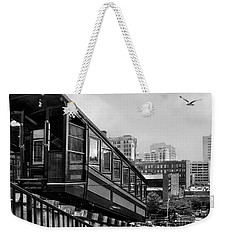 Los Angeles Angels Flight.bw Weekender Tote Bag