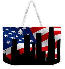 Los Angeles Skyline 2 Weekender Tote Bag