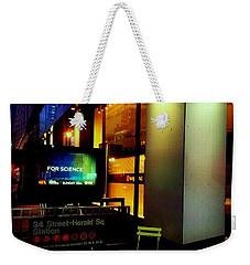 Lost Conversation Weekender Tote Bag