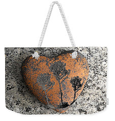 Weekender Tote Bag featuring the photograph Lost Heart by Juergen Weiss