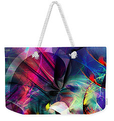 Lost In Hyperspace Weekender Tote Bag by David Lane
