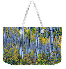 Weekender Tote Bag featuring the photograph Lost In The Crowd by Jeremy Rhoades