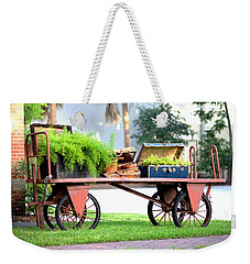 Weekender Tote Bag featuring the photograph Lost Luggage by Gordon Elwell