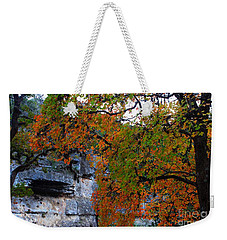 Fall Foliage At Lost Maples State Natural Area  Weekender Tote Bag