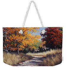 Lost Maples Trail Weekender Tote Bag