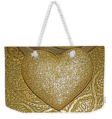 Lost My Golden Heart Weekender Tote Bag