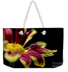 Weekender Tote Bag featuring the photograph Lost On A Petal by Michelle Meenawong