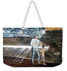 Lost Sometimes Weekender Tote Bag by Lazaro Hurtado