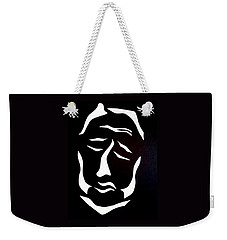 Weekender Tote Bag featuring the digital art Lost Soul by Delin Colon