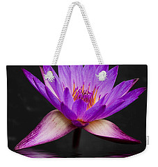 Lotus Weekender Tote Bag by Adam Romanowicz