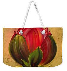 Lotus Bulb Weekender Tote Bag