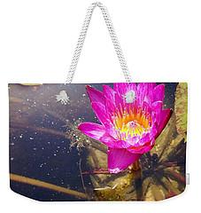 Lotus Day Weekender Tote Bag