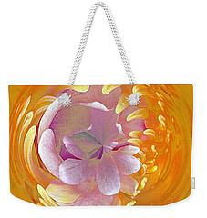Lotus Go Round Weekender Tote Bag