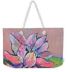 Lotus Iv Weekender Tote Bag