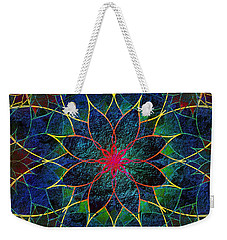 Lotus Weekender Tote Bag by Klara Acel