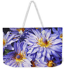 Lotus Light - Hawaiian Tropical Floral Weekender Tote Bag