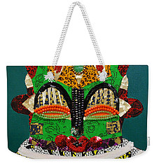 Lotus Warrior Weekender Tote Bag