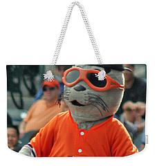 Lou Seal San Francisco Giants Mascot Weekender Tote Bag