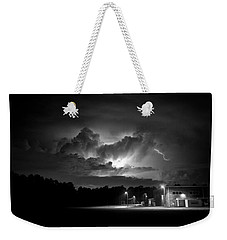 Weekender Tote Bag featuring the photograph Loud And Bright by Ben Shields